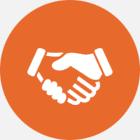 众诚人力资源客户服务图标